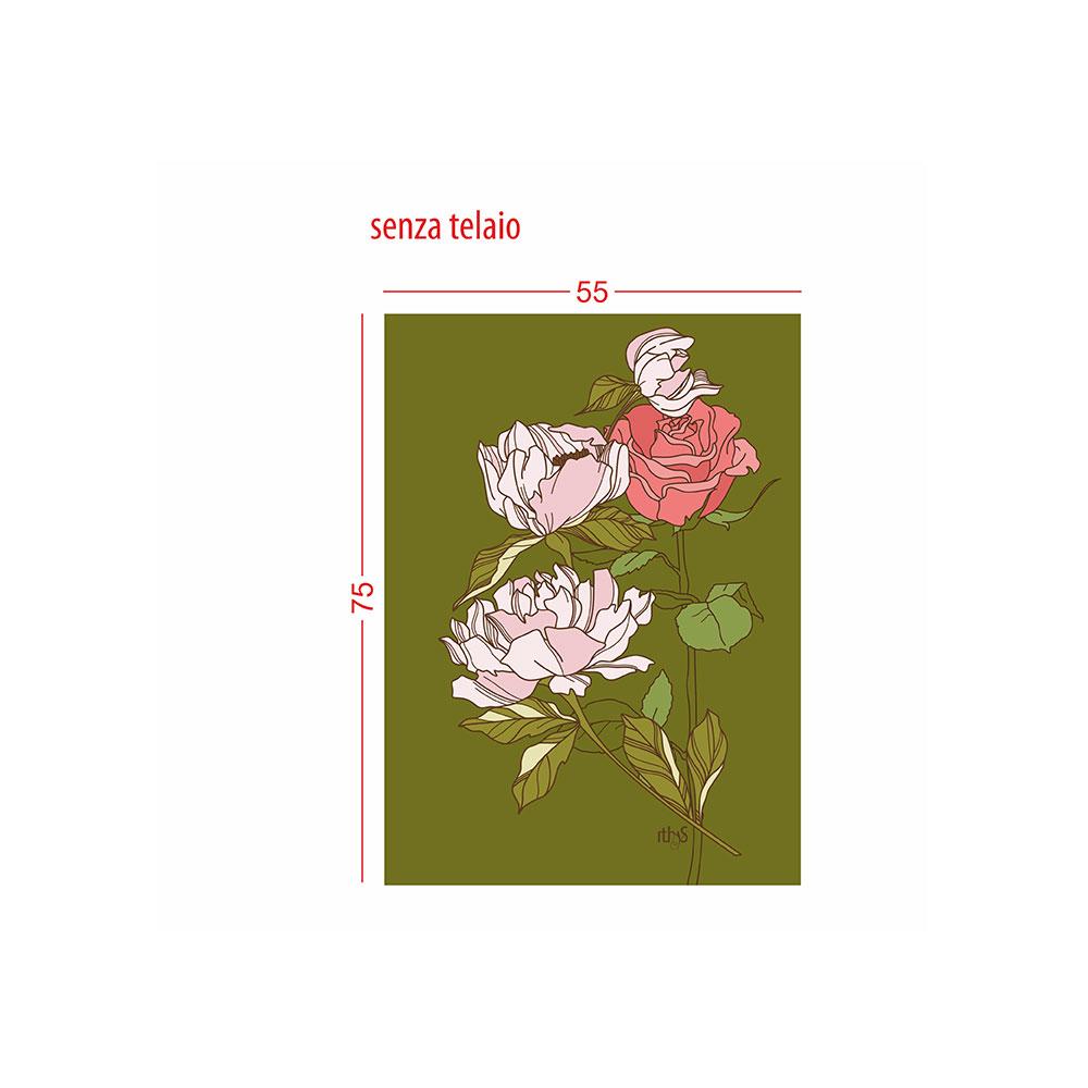 TELA CANVAS - magnolia rosa