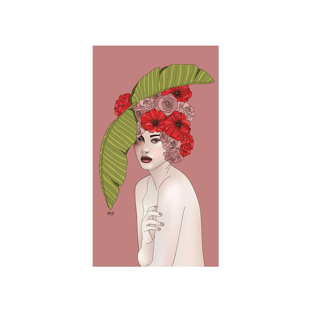 TELA CANVAS - Papaveri Rose